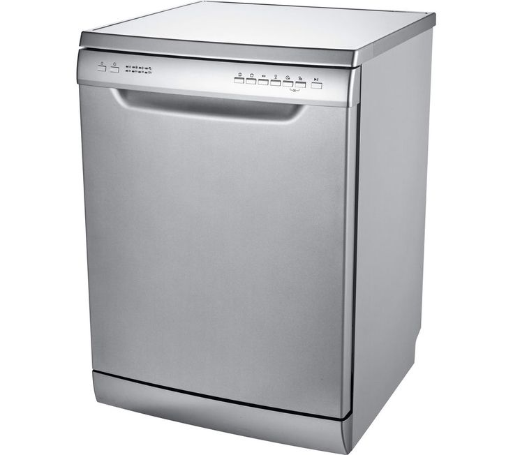 ESSENTIALS CDW60S16 Full-size Dishwasher - Silver