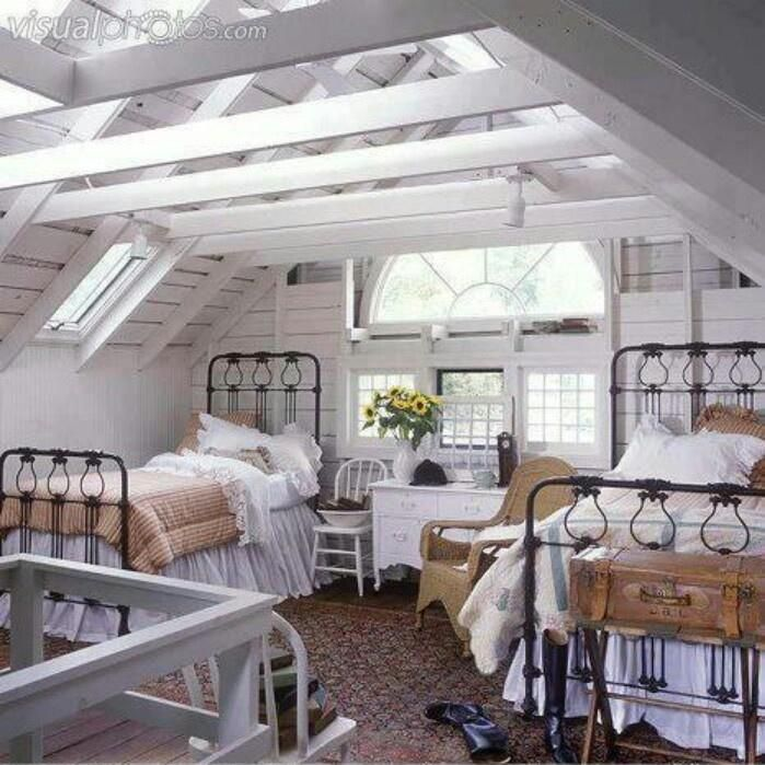 17 Best Images About Farmhouse Chic Bedrooms Twin Bed