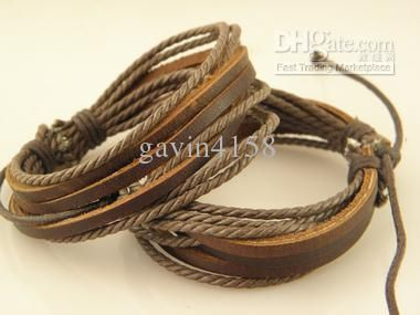 how to make leather bracelets for men - Google Search