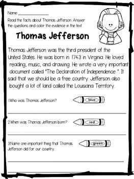 Thomas Jefferson Questions and Answers