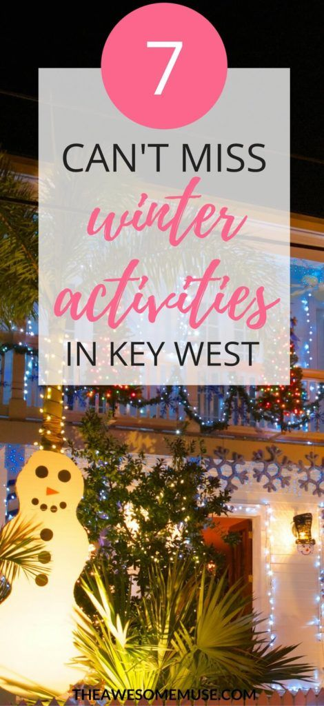 There's so much to do in Key West, Florida in the winter. One of my favorites is the Harbor Walk of Lights. It's so festive and really gets me in the Christmas spirit. It's perfect for families! #KeyWest | Key West Vacation | Christmas in Key West |