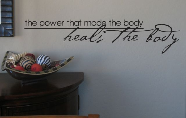 I want this in my office...the power that made the body heals the body! #life #chiropractic #health