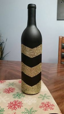 Las Mejores 10 Ideas para Decorar Botellas con Glitter... ¡Te Encantarán!