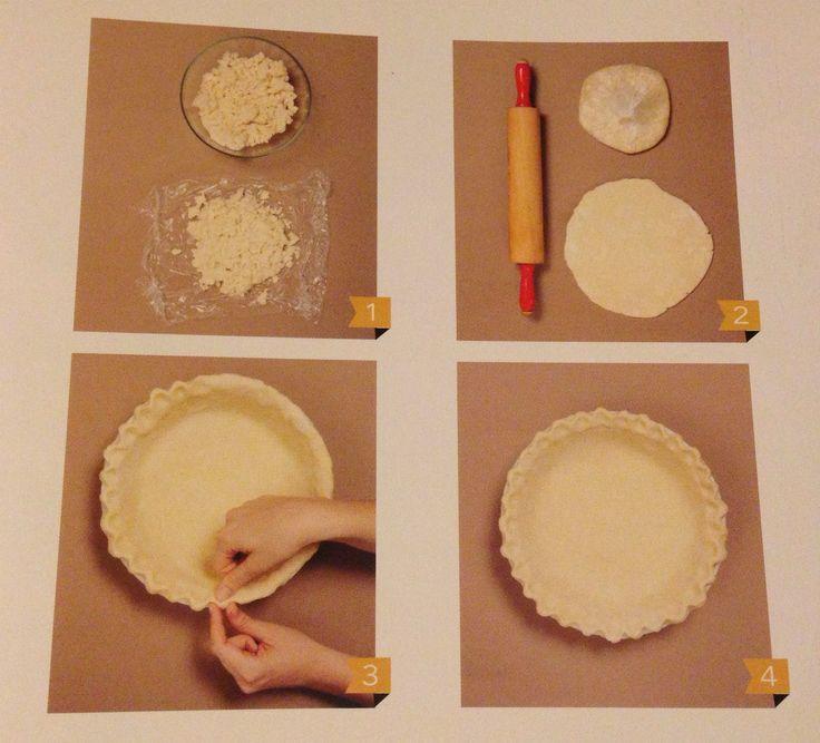 Pie Crust - base per torte pie - ricetta di base