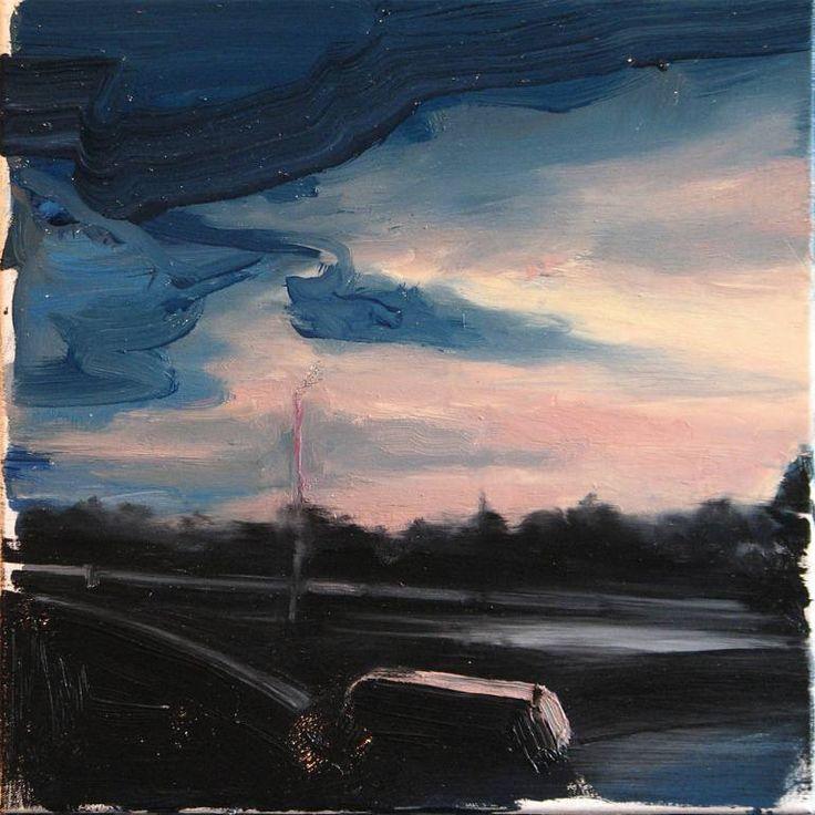 """Saatchi Art Artist Robert Bubel; Painting, """"'Yesterday. Today III.'"""" #art"""