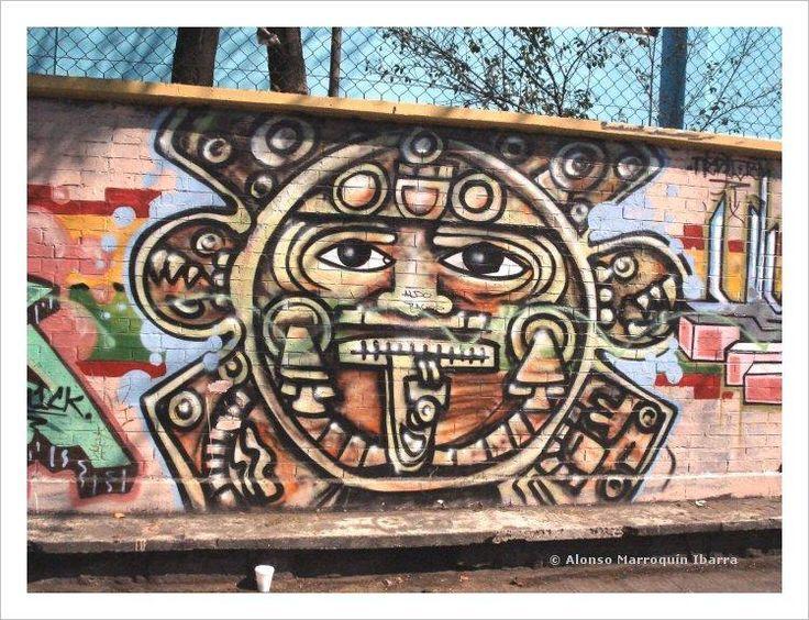 Mexican Graffiti in Mexico City