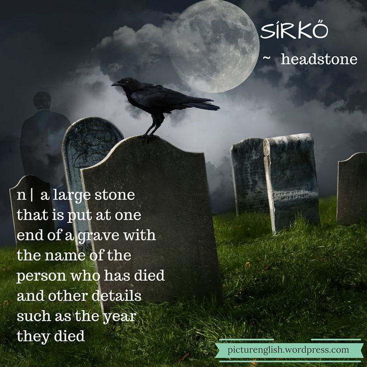 Headstone / Sírkő