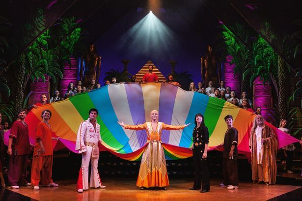 Lloyd Daniels in Joseph and the Amazing Technicolor Dreamcoat