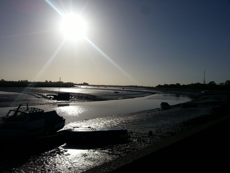 River Blackwater at #Maldon Hythe Quay (posted by Maldon-town.com)