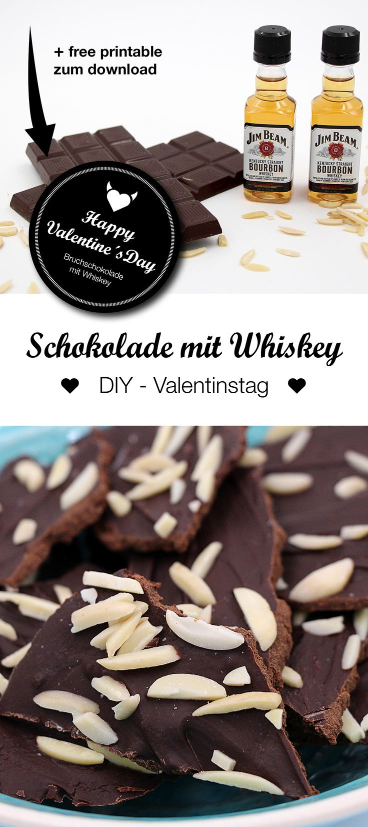 Gifts for men – make chocolate yourself with whiskey