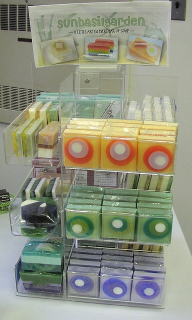 My first soap show display | Flickr – 相片分享!