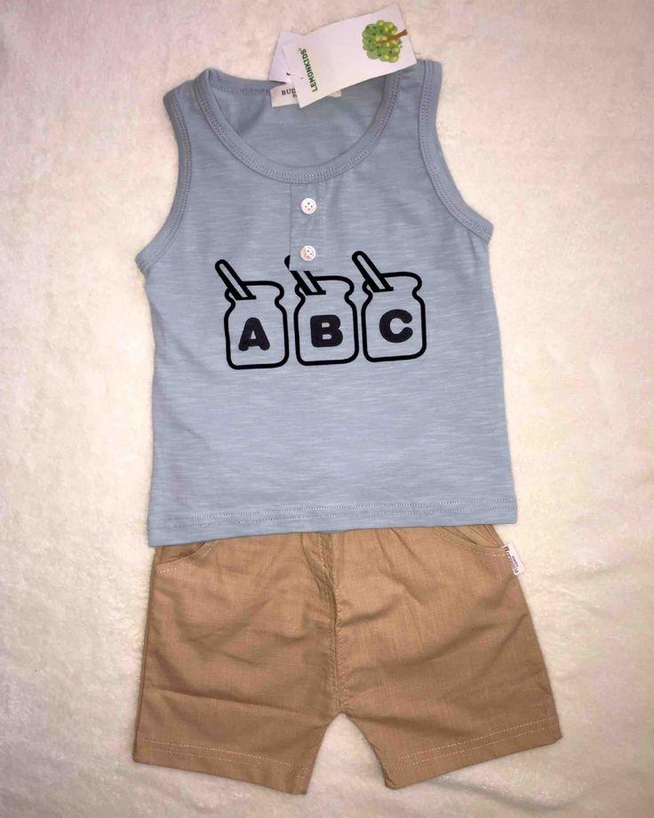 Conjunto Bebe Menino Luxo  Baby Boy Happy Summer