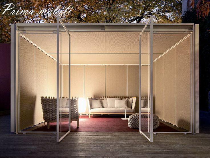 Итальянский садовый диван Wabi Paola Lenti купить в Москве в Prima mobili