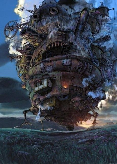 Howl's Moving Castle, one of my favorite movies!