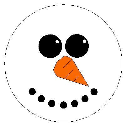 Snowman faces, Snowman and Faces on Pinterest