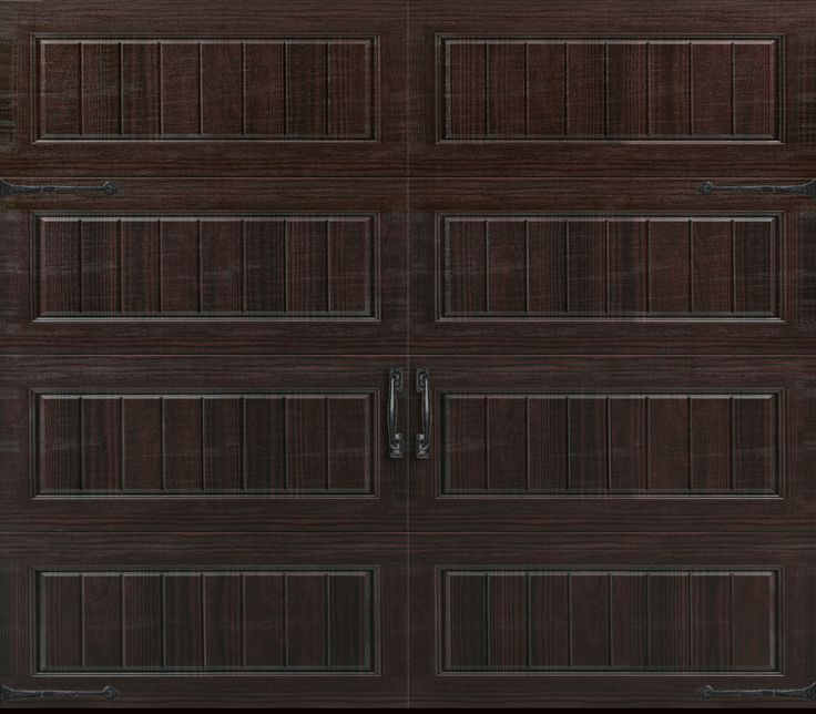 Amarr Garage Doors Oak Summit 3000 Collection Long