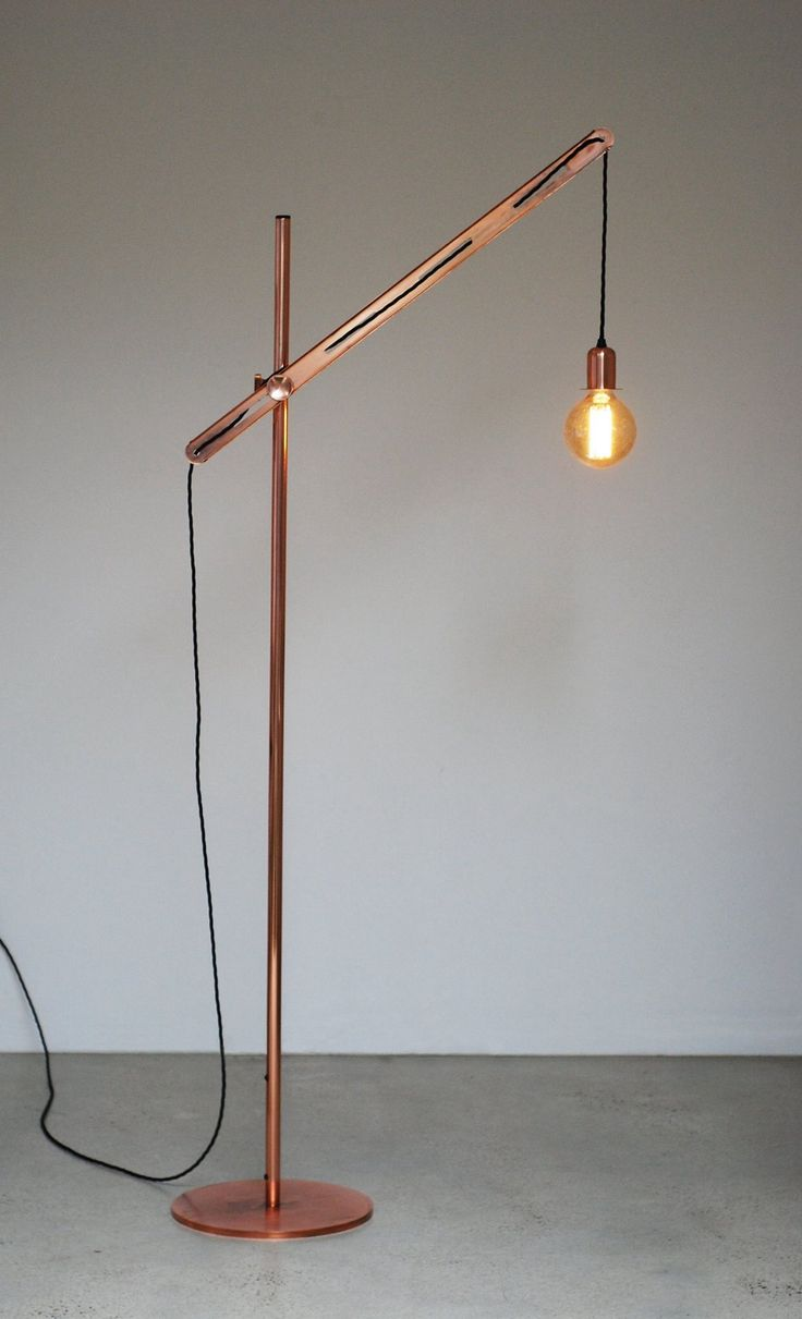 I want this so bad -- Copper floor light By LifeSpaceJourney