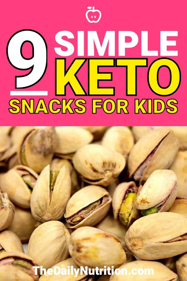 9 Keto Snacks For Children That They Will Love and Chow Down