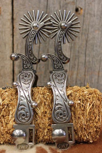 JW spurs from Custom Cowboy Shop-