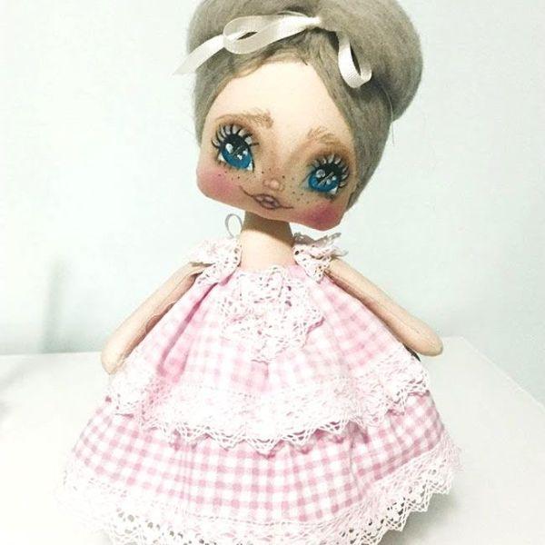 Muñeca de tela carolina con patrones | muñecas de trapo | Dolls ...