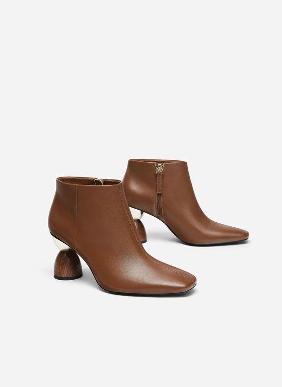 <b>Women's Ankle Boots</b>   Uterqüe Autumn Winter Collection 2018 ...