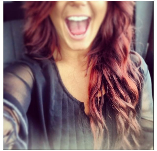 Get Chelsea's Hair Professionally for $10! Esalon, red hair, amazing.
