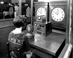 popcorn time lady: Speaking Clock, Automated Equipment, Automated Systems, Call Time, 1937 Time, Talking Clock, Time Voice, Clocks, File 1937Timevoice Jpg