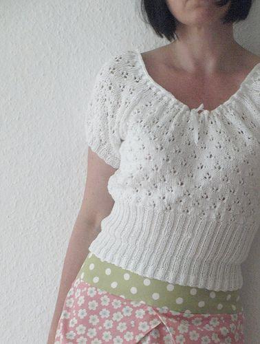 drops design - free pattern