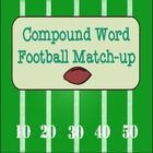 "Freebie: This matching games combines football fun with learning. Players flip two cards hoping to make a compound word. This ""memory style"" game can be pla..."