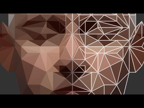 Photoshop Tutorial: Low Poly Portrait - YouTube (this guy is awesome)