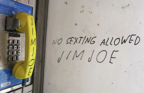 NO SEXTING ALLOWED #JIMJOE