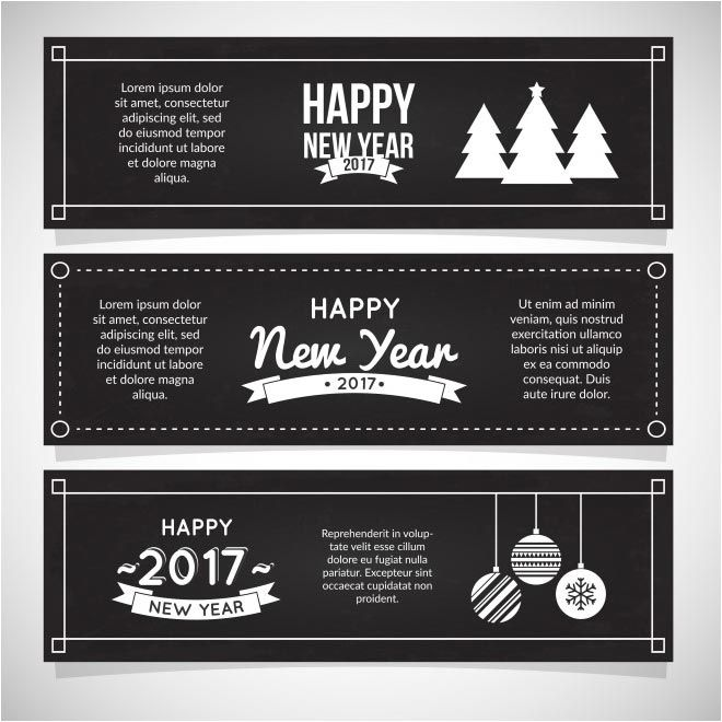 free vector Happy New Year 2017 modern brochure www.cgvector.com/... #2017, #Bac...