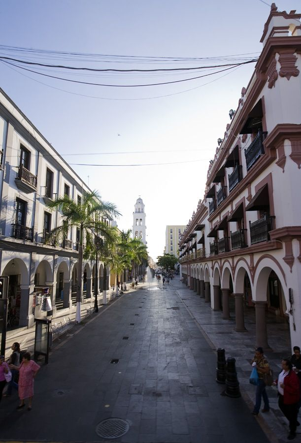 Los Portales, Puerto de Veracruz