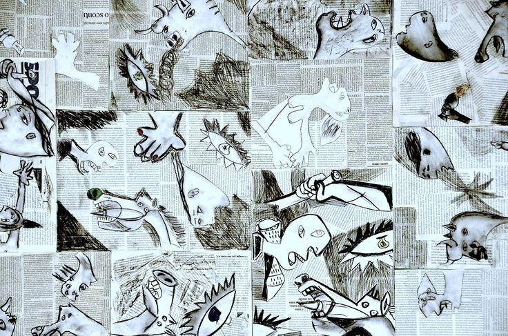 With students of the eighth grade we studied cubism and its main exponents. He could not miss the most famous work by Picasso, Guernica, reminiscent of the bombing of the Spanish city in 1937, and …