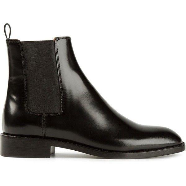 Saint Laurent Classic Chelsea Boots found on Polyvore