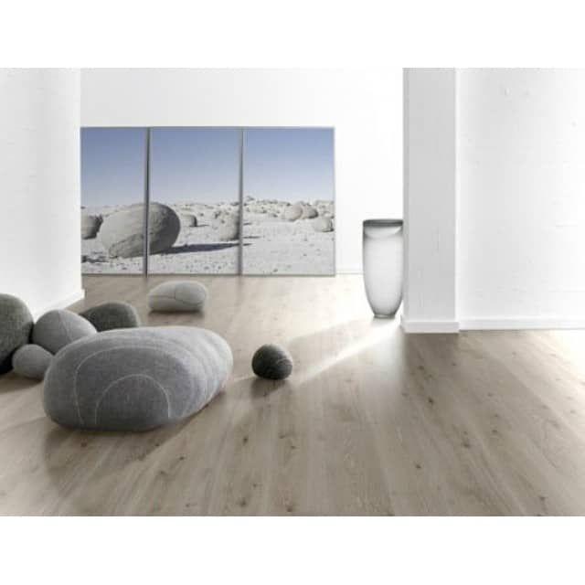Parador Trendtime 6 Laminat hochwertig mit 4-V-Fuge Eiche Castell weiß lasiert Planke 2200 x 243 mm, 9 mm stark, 2,67 m² pro Paket, Preis pro Pack - allfloors - Bodenbelag günstiger kaufen