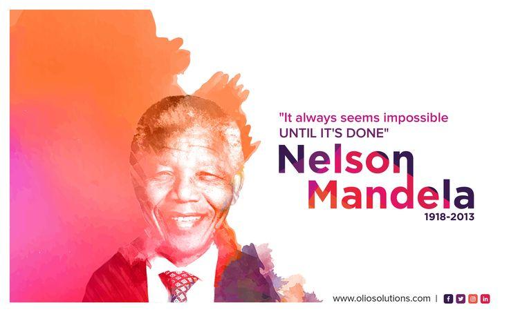 Nelson Mandela International Day #LivingTheLegacy #equalitymonday #mondaymotivation #moralmondays #motivationmonday