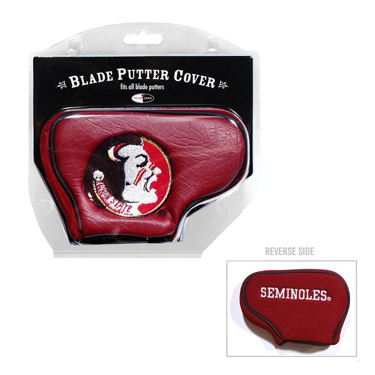 Team Golf Florida State Seminoles Blade Putter Cover, Multicolor