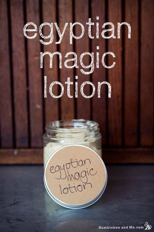 Egyptian Magic Lotion 6g emulsimulse (or other complete emulsifying wax—not beeswax!) 2g beeswax 17g olive oil 4g honey 30 drops bee propolis tincture ½ tsp bee pollen 71g water ½ tsp royal jelly (optional) 4 drops lavender essential oil (optional)