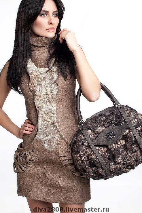 Diana Nagorna - felted dress