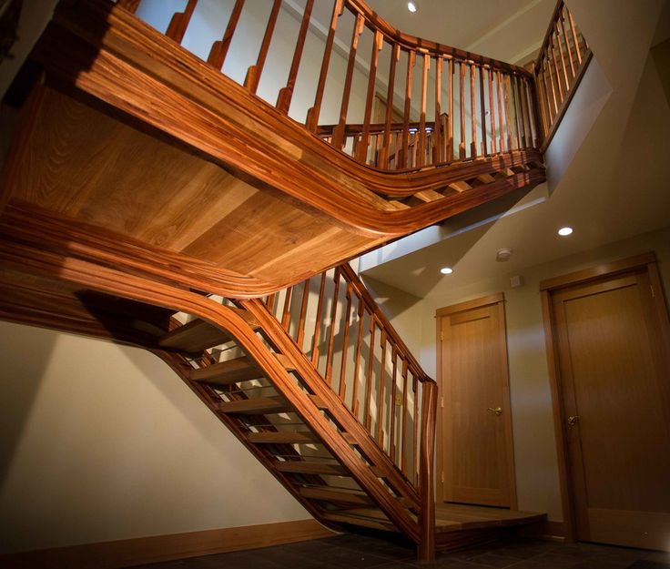 Floating Open Riser Staircase