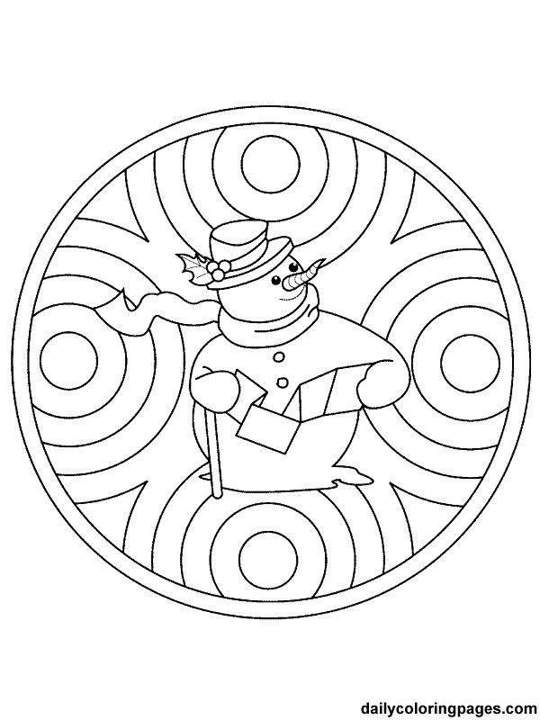 45 best Mandalas for kids images on Pinterest Coloring pages