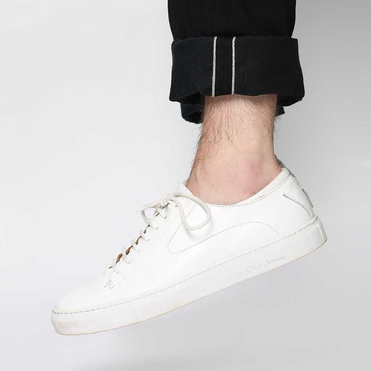 white trainers are a summer essential