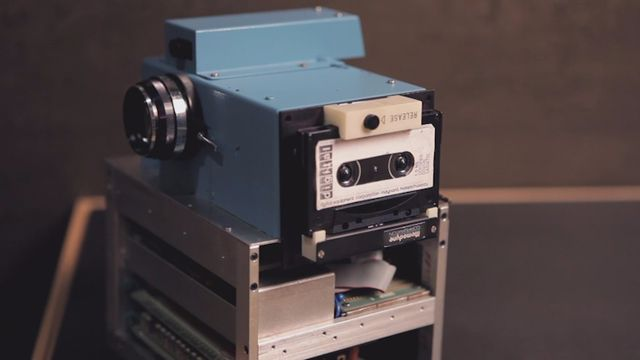 the 1st digital camera: http://www.fastcodesign.com/1663611/how-steve-sasson-invented-the-digital-camera-video