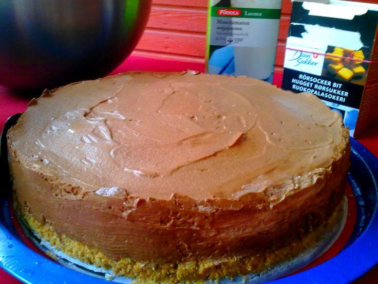 Coconut Chocolate Cake / Kookos-suklaakakku (vegan / vegaaninen)