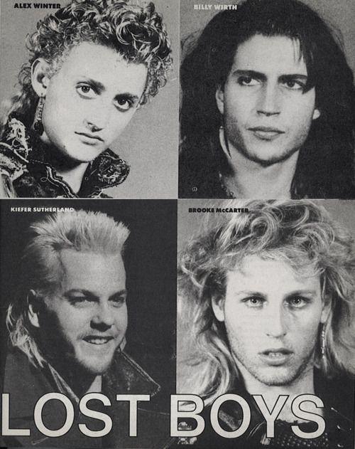 The Lost Boys Paul | the lost boys # kiefer sutherland # billy wirth # alex winter