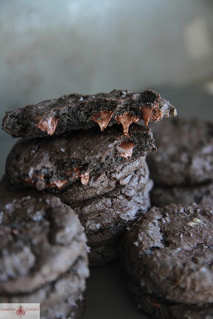Dark Chocolate Guinness Cookies Recipe: Dark Chocolate and Guinness Cookies Summary: makes