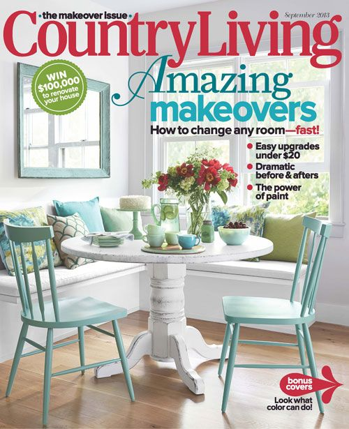 Countryliving September Cover Table By Ecustomfinishes