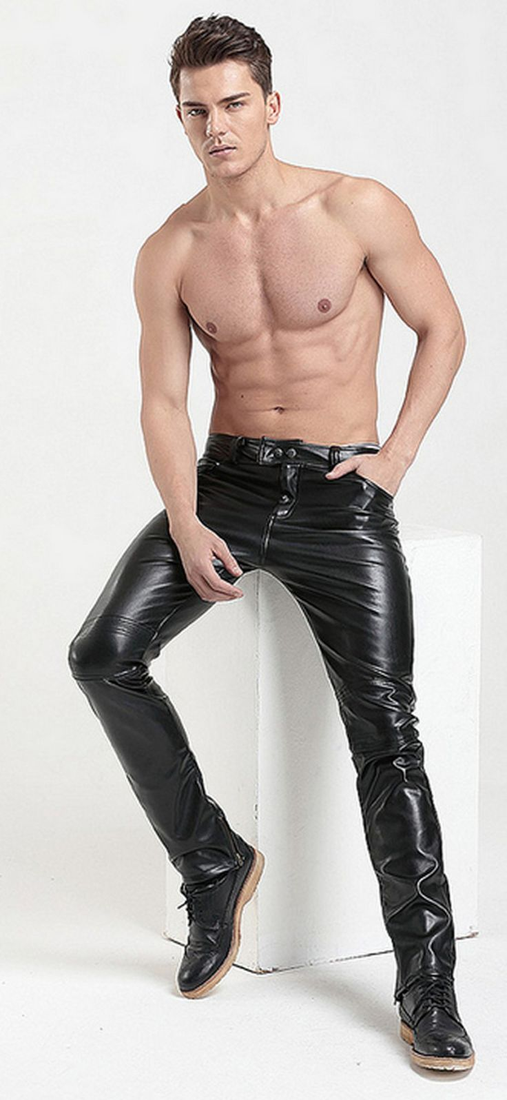 CHAPS LEDERHOSE leather Leder GAY Lederchaps