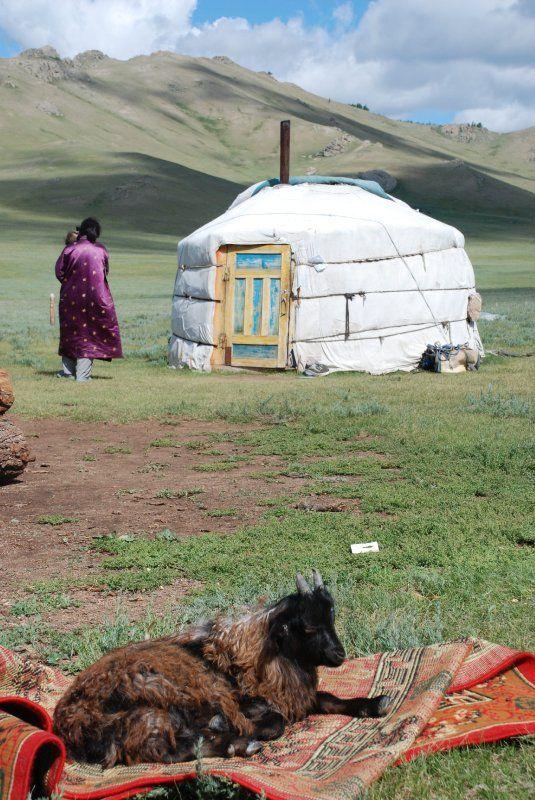 Pueblo nómada de Mongolia